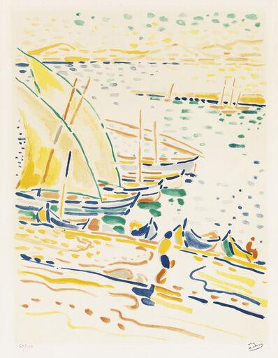 André Derain, 'Bateaux à Collioure.', circa 1920