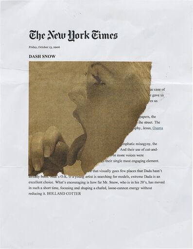 Dash Snow, 'The New York Times', 2006 -2007