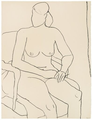 Richard Diebenkorn, 'Seated Nude (from the Seated Woman series)', 1965