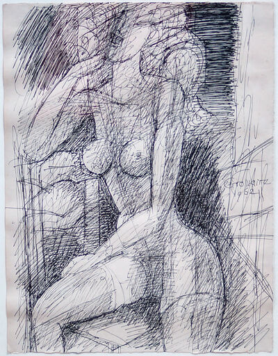 Marcel Gromaire, 'Female Figure', 1962