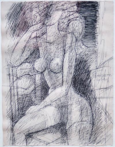 Marcel Gromaire, 'Female Figure', 1962