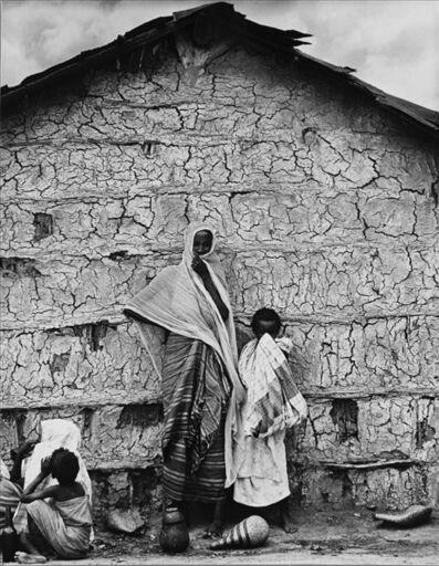 Mario De Biasi, 'Untitled (African village)', anni 1970