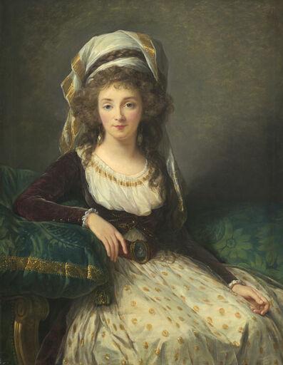 Élisabeth Louise Vigée-Le Brun, 'Madame d'Aguesseau de Fresnes', 1789