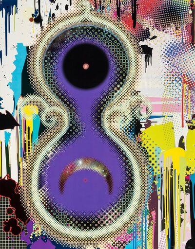 Takashi Murakami, 'Genome No. 10 10^7x2^122', 2009