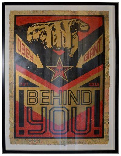 Shepard Fairey, 'Behind You', 2009