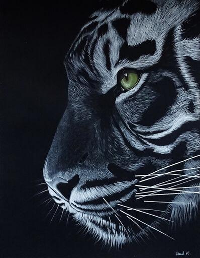 David Da Costa, 'The tiger', 2020