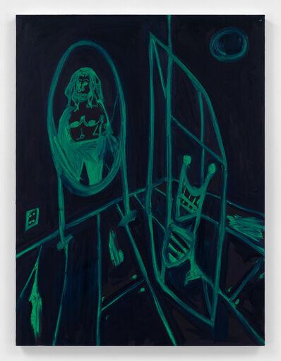 Marcus Jahmal, 'Lady in mirror ', 2021