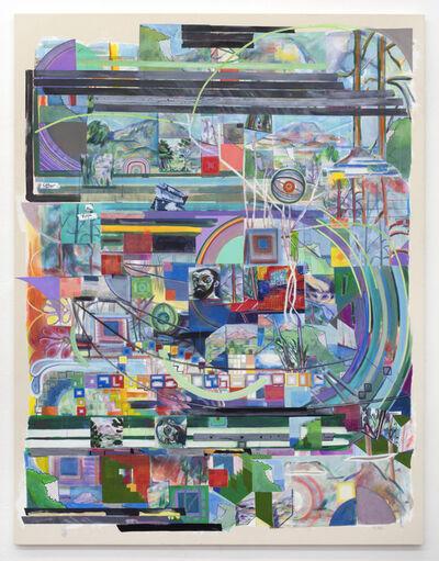 Franklin Evans, 'selfportraitascezanne', 2018