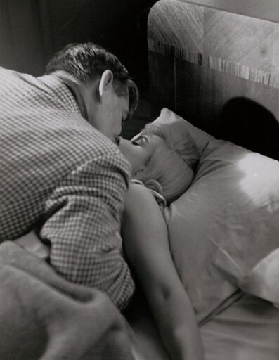 Eve Arnold, 'Marilyn Monroe in Bed with Clark Gable in The Misfits', 1960