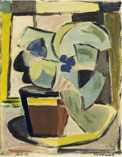 Werner Drewes, 'Floral Still Life.', circa 1950