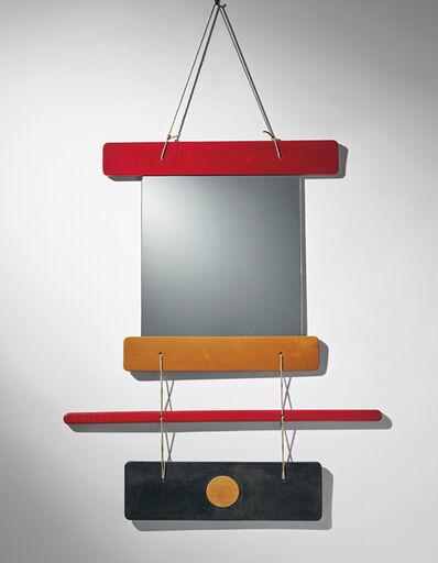 Ettore Sottsass, 'Composizione di elementi di legno colorato e specchio, il tutto unito da funi di canapa, designed for Galleria Arform, Milan', 1959