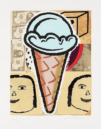Donald Baechler, 'Ice Cream Cone', 2001