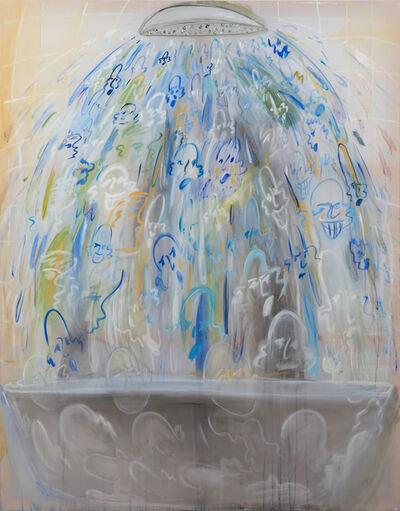Yulia Iosilzon, 'The Fear of Orange Water (The Shower)', 2019