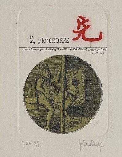 Gaetano Pompa, '2 - PRECEDERE', 20th century