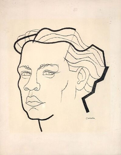 Mario Carreño, 'Portrait of Guillen', 1942