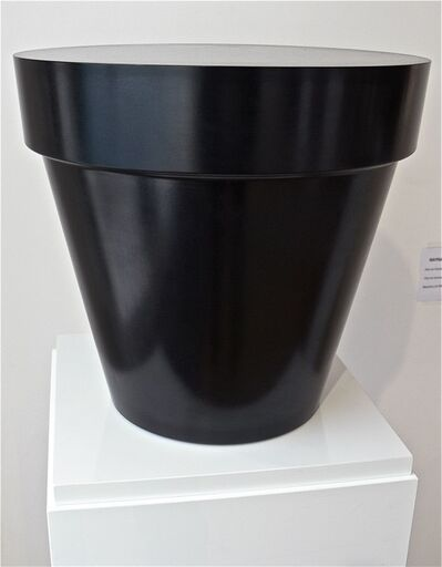Jean-Pierre Raynaud, 'Black bronze pot', 2003