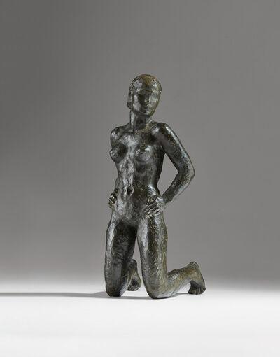 Georg Kolbe, 'Kniende', circa 1928-1929