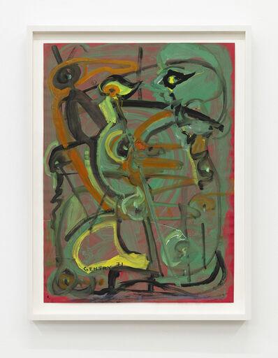 Herbert Gentry, 'Talking to the Birds', 1971