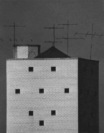 André Kertész, 'Water Tower and TV Antennas, December 1, 1962', 1962