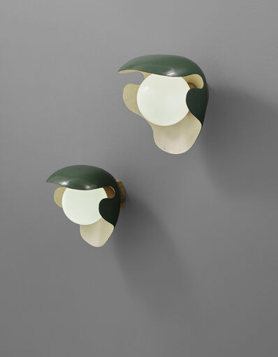 Palle Suenson, 'Pair of large wall lights, designed for the canteen, Aarhus Oil Factory A/S', ca. 1940