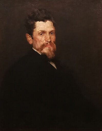 William Merritt Chase, 'Portrait of a Gentleman', ca. 1875