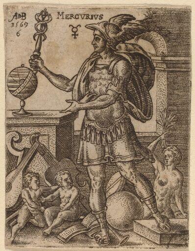 Abraham de Bruyn, 'Mercury', 1569