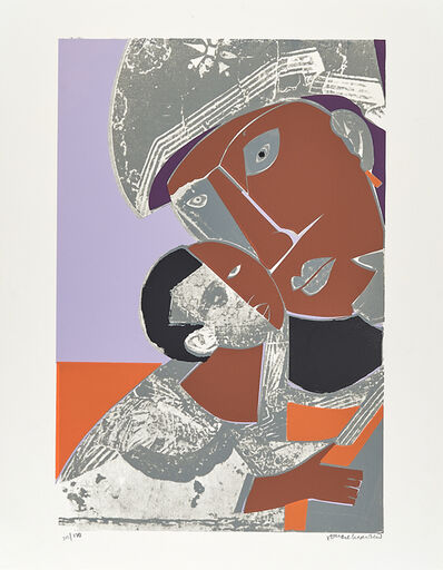 Romare Bearden, 'Mother and Child', 1972
