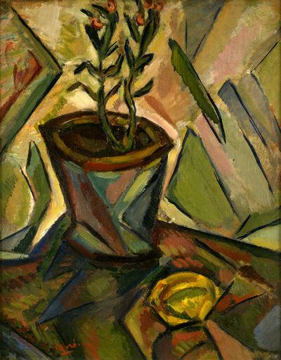 Joan Miró, 'Le Pot de fleurs et le citron', 1916
