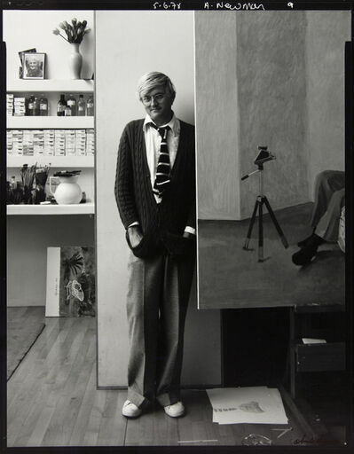Arnold Newman, 'David Hockney, London ', 1978