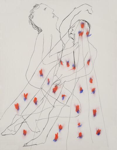 Sidney Nolan, 'Robert Lowell - Poem XLVI', 1966
