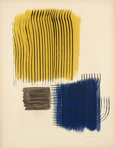 Hans Hartung, 'Musee National D'art Moderne de Paris', 1969