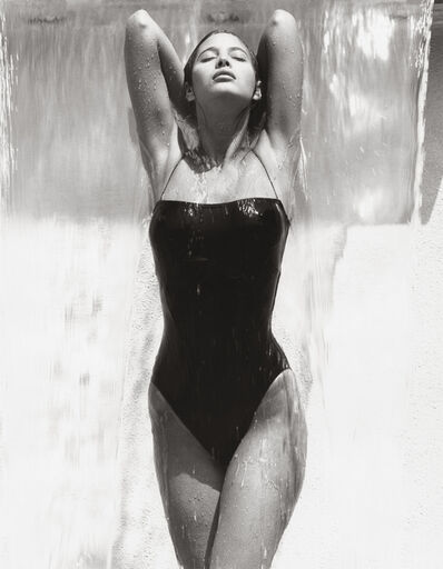 Herb Ritts, 'Christy - Waterfall, Los Angeles (F)', 1988