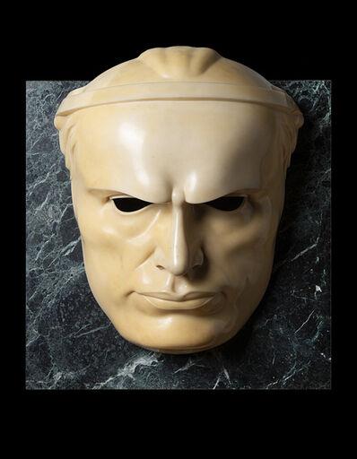 Adolfo Wildt, 'Maschera di Mussolini', 1923
