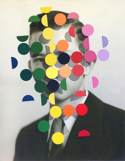 Julie Cockburn, 'Dapple (Rainbow Man 1)', 2019