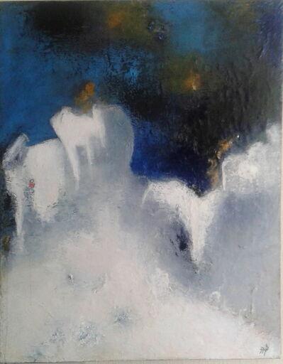 """Thérèse Bosc, '""""with each wave a promise """"  ( Albert Camus.) ', 2014"""