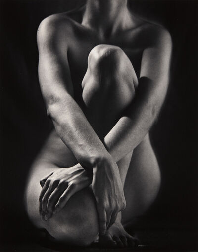 Ruth Bernhard, 'Classic Torso with Hands', 1952