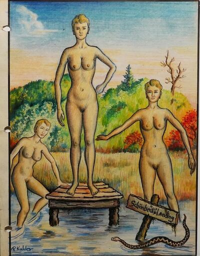 Renaldo Kuhler, 'Nudism at Camp Lohikaan, Grünwald, Arlienne Province', 1960