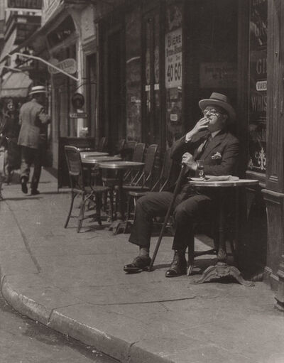 James Abbe, 'Alexander Woollcott in Paris', 1975