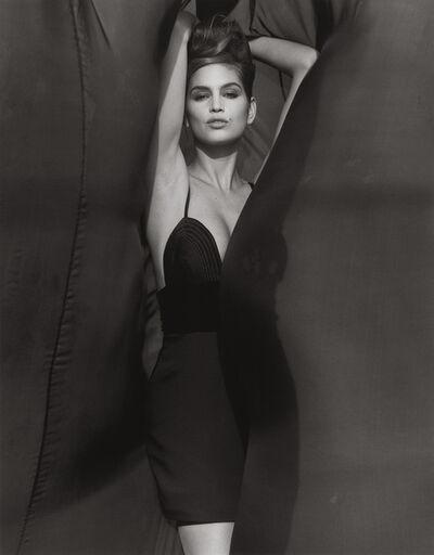 Herb Ritts, 'Cindy Crawford - Versace, El Mirage (k)', 1990