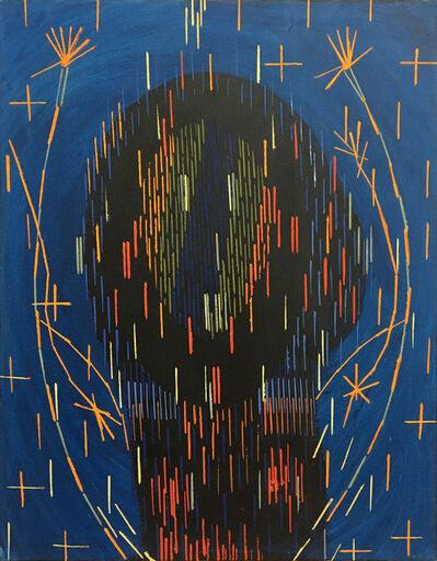 Lee Mullican, 'Untitled Medicine Head', 1984