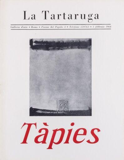 Antoni Tàpies, 'Tàpies', 1964