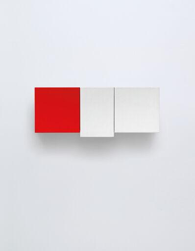 Imi Knoebel, 'Weiß-Weiß-Rot (White-White-Red)', 1990