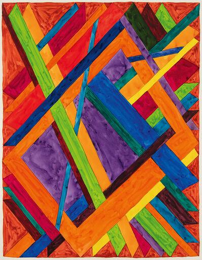William T. Williams, 'Palm Cafe', 1970