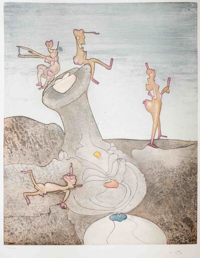 Roberto Matta, 'Così Fan Tutte', 1970