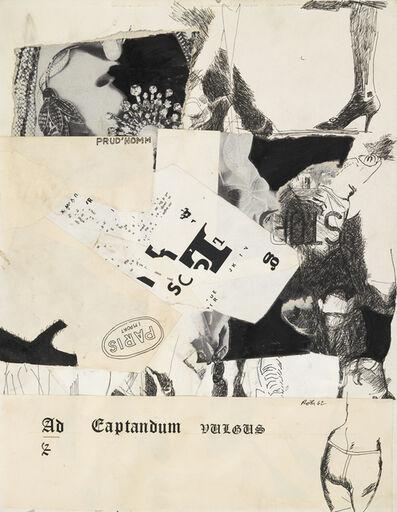 Jack Roth, 'PRUD'HOMM', 1962