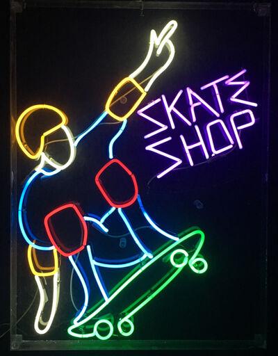 Neon Museum of Philadelphia, 'Skate Shop', 1980's