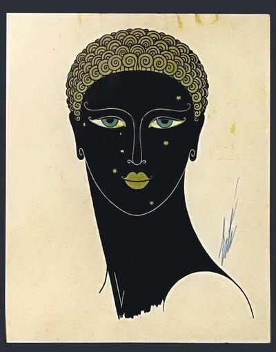 Erté (Romain de Tirtoff), 'Queen of Sheba', ca. 1980