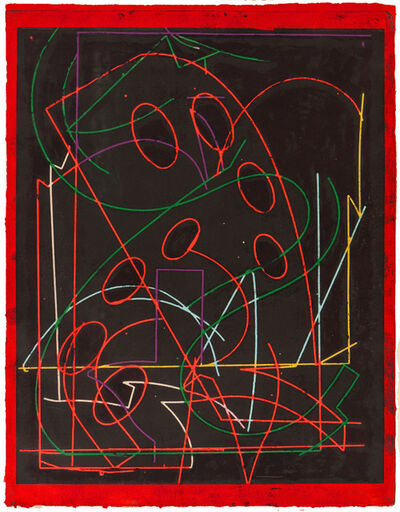 Frank Stella, 'Talladega Five I (from Circuits Series)', 1982
