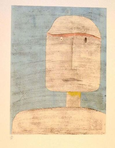 Paul Klee, 'Ghost of a Warrior', 1960
