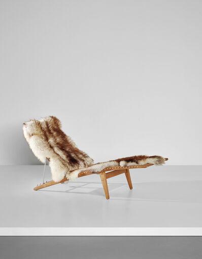 Hans Jørgensen Wegner, 'Early adjustable lounge chair, model no. JH524', ca. 1959